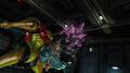Samus faces Queen Metroid Room MW Bioweapon Research Centre HD