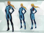 MSR Artbook Zero Suit Samus