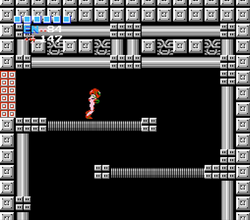 Tourian ledged shaft Metroid.png