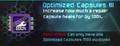 Optimized Capsules