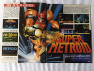 Super Metroid magazine pullout (UK, VGM, mag unknown) inserts