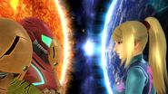 SSB4-Wii U Congratulations Classic Zero Suit Samus