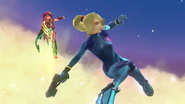 Zero Suit Samus in Pyra and Mythra trailer 3