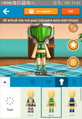 Miitomo green and blue Casual Outfits