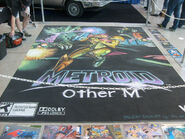 Pax 2010 chalk art metroid