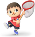 SSB Ultimate Villager render