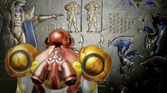 Metroid Dread - Samus finds the Chozo hieroglyphs