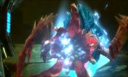 Metroid Samus Returns Metroid (Stage 5) Gamma Metroid Electrified Jaws (Cutscene)