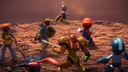 SSBU World of Light Samus and fighters prepare for battle
