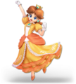 SSB Ultimate Daisy render