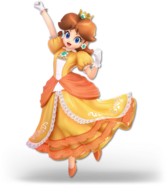 SSB Ultimate Daisy render