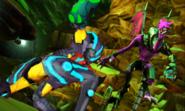 Metroid Samus Returns Proteus Ridley Ridley Returns - The Cunning God of Death Ridley VS The Hunter Samus - Battle for Baby (Cutscene)