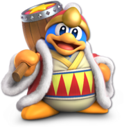 SSB Ultimate King Dedede render