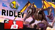 Meta Ridley victory pose