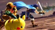 More Fighters, More Battles, More Fun - Samus running