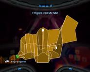 Frigate Crash Site Map
