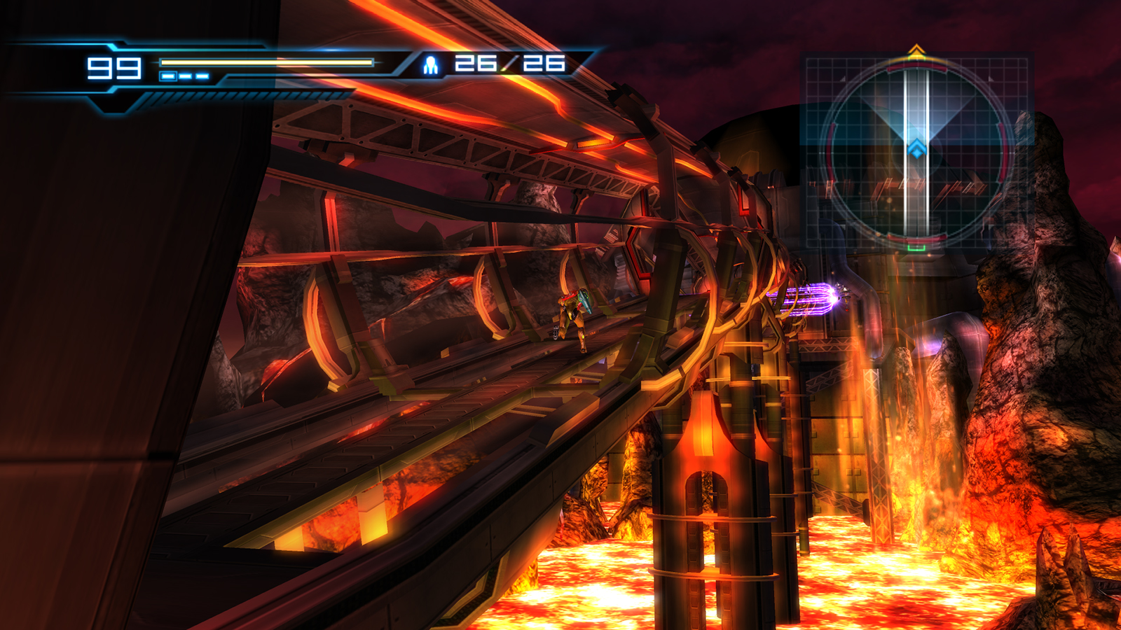 List of rooms in Metroid: Other M/Pyrosphere