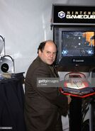 Jason Alexander playing Metroid Prime