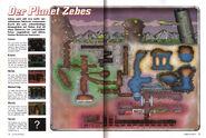 Mapa de Zebes en alemán