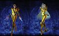 Bayonetta 2 Galactic Bounty Hunter costumes (new hairstyles)