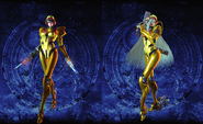 Bayonetta 2 Galactic Bounty Hunter costumes (new hairstyles)