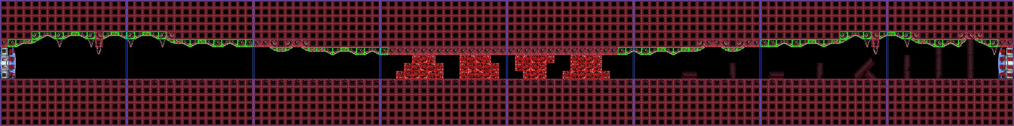 Long horizontal path