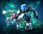 Metroid Prime Federation Force Artwork 01