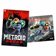 Metroid Dread Double-Sided A2 Poster