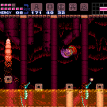 Ridley's Lair Acid Pool Chamber SM.png