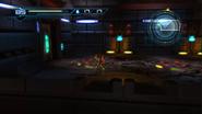 Pyrosphere combat arena - left side
