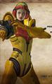 Bayonetta Jeanne Galactic Bounty Hunter costume (Wii U version credits)