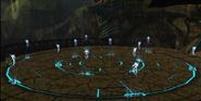 Fantasmas Chozo en el Templo de los Artefactos