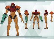 MSR Artbook Power Suit designs