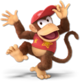 SSB Ultimate Diddy Kong render