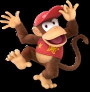 SSB Ultimate Diddy Kong render