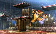 Smash4 Bowser Flying Kick