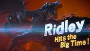 A Piercing Screech Ridley Hits the Big Time!