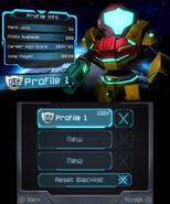 Federation Force Data Screen
