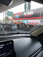 Metroid Dread billboard in Mexico