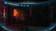 Collapsed vent room - SMR door