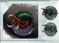 MSR Artbook Alpha Metroid