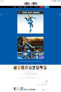 SSB4 Official Site bio - Zero Suit Samus