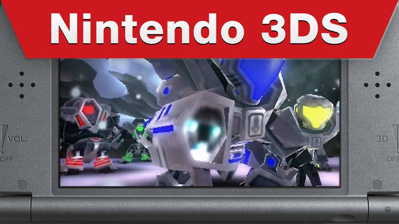 Metroid Prime: Federation Force E3 Trailer