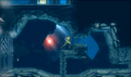 Metroid Samus Returns Diggernaut pursues Samus