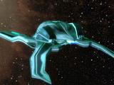 Mysterious spacecraft