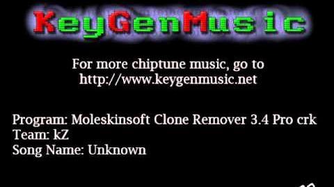 KeygenMusic kZ - Moleskinsoft Clone Remover 3