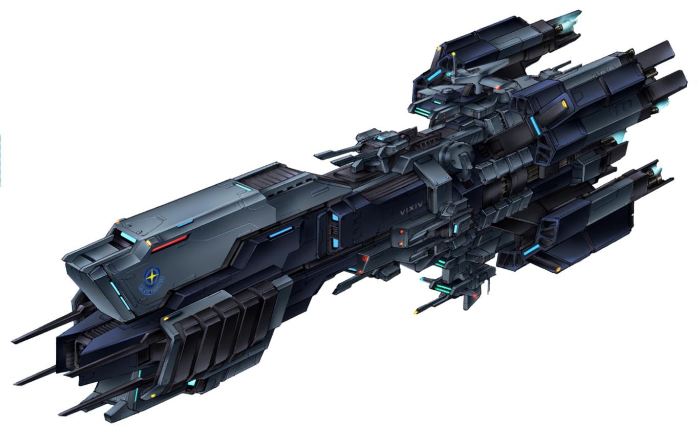 Galactic Federation Battleship VIXIV