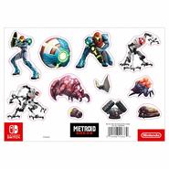 Metroid Dread Sticker Sheet