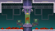Super Meat Boy Forever Metroid parody 7