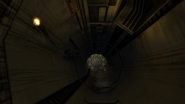 Main Ventilation Shaft B tunnel section